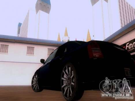 Chrysler 300 c SRT8 2007 für GTA San Andreas rechten Ansicht