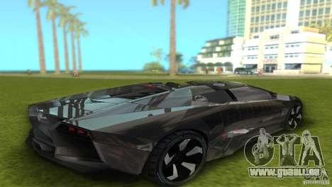 Lamborghini Reventon pour une vue GTA Vice City de la droite
