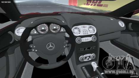 Mercedes-Benz McLaren SLR 722 v2.0 für GTA 4 Rückansicht