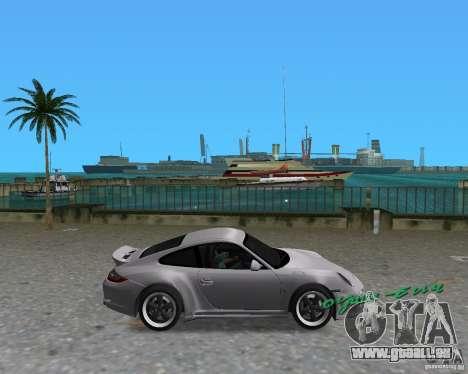 Porsche 911 Sport für GTA Vice City linke Ansicht
