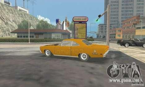 Plymouth Roadrunner 383 für GTA San Andreas rechten Ansicht