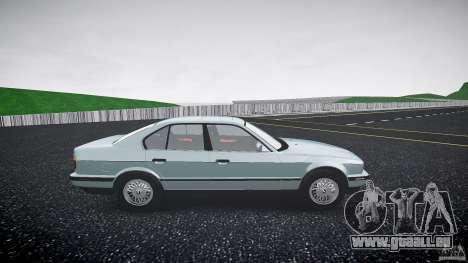 BMW 535i E34 für GTA 4 Rückansicht