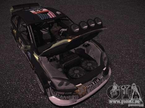 Ford Focus RS Monster Energy pour GTA San Andreas vue intérieure