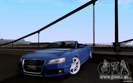Audi S5 Cabriolet 2010 pour GTA San Andreas