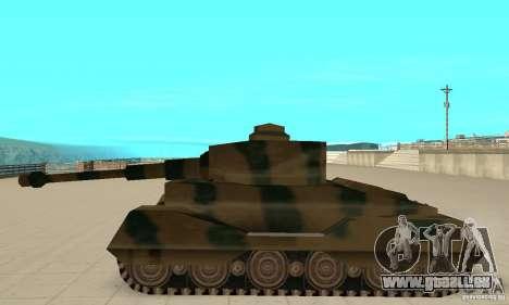 Char Tigre-RL pour GTA San Andreas laissé vue