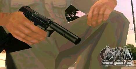 Weapon Pack v 5.0 für GTA San Andreas zweiten Screenshot