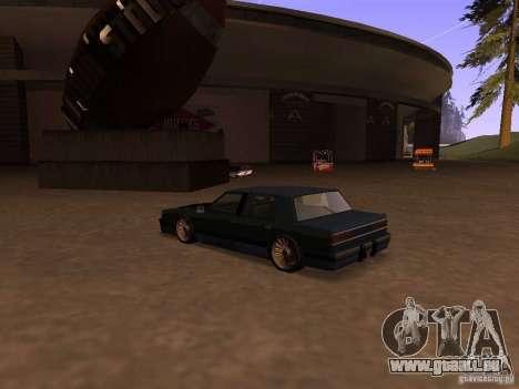 Willard Drift Style pour GTA San Andreas laissé vue