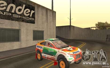 Mitsubishi Racing Lancer pour GTA San Andreas vue arrière