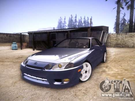 Lexus SC300 - Stock für GTA San Andreas