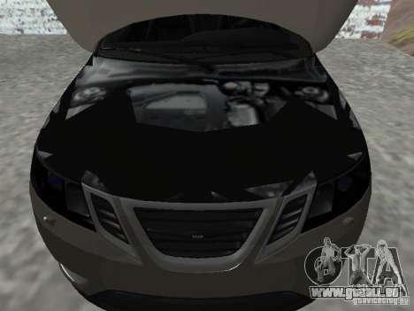 Saab 9-3 Turbo X pour GTA San Andreas vue de droite