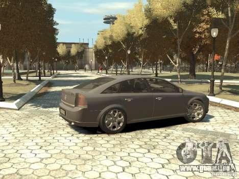 Opel Vectra pour GTA 4 est une gauche