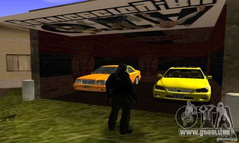 Grove Street v1.0 pour GTA San Andreas quatrième écran
