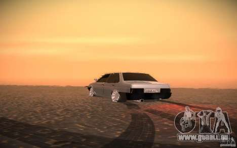 VAZ 21099 LifeStyle Tuning pour GTA San Andreas vue intérieure