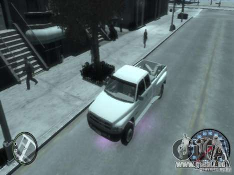 Dodge Ram 3500 für GTA 4 Rückansicht