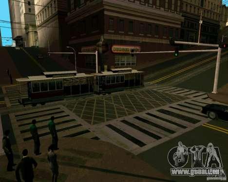 GTA 4 Roads pour GTA San Andreas cinquième écran