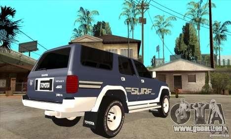 Toyota Surf v1.0 für GTA San Andreas rechten Ansicht