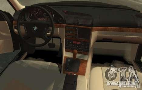 BMW 750i E38 1998 M-Packet pour GTA 4 est une gauche