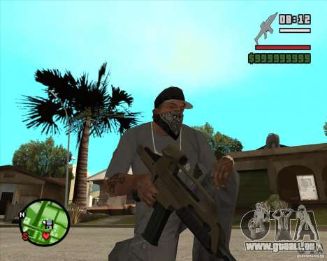 End Of Days: XM8 (HD) für GTA San Andreas zweiten Screenshot
