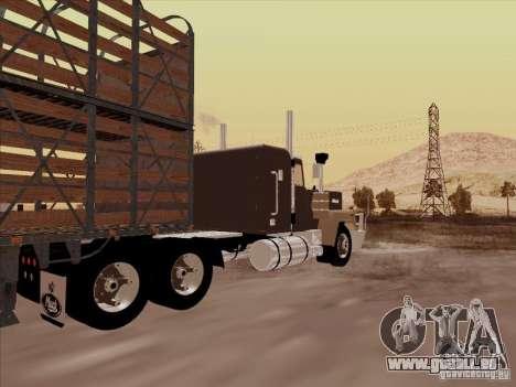 Mack RoadTrain für GTA San Andreas rechten Ansicht