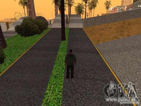 HD Santa Maria Beach pour GTA San Andreas huitième écran