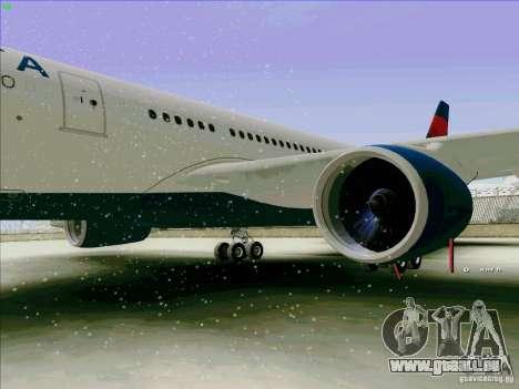 Airbus A330-200 pour GTA San Andreas vue arrière
