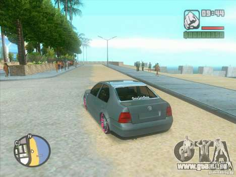 VW Bora Tuned pour GTA San Andreas vue de droite