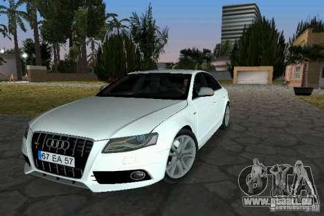 Audi S4 2010 für GTA Vice City