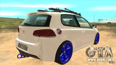 Volkswagen Golf MK6 Hybrid GTI JDM pour GTA San Andreas vue de droite
