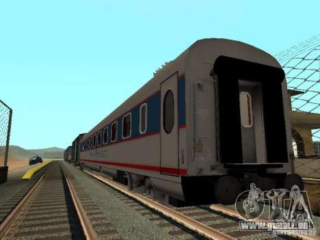 Nevsky express für GTA San Andreas zurück linke Ansicht