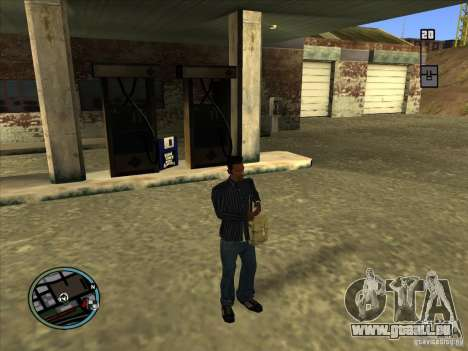 SA IV WEAPON SCROLL 2.0 für GTA San Andreas zweiten Screenshot