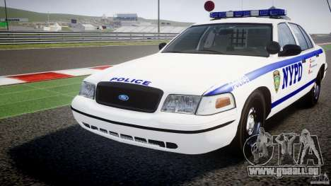 Ford Crown Victoria NYPD [ELS] pour GTA 4 est un côté