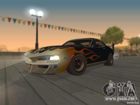SPEEDEVIL from FlatOut 2 pour GTA San Andreas vue arrière