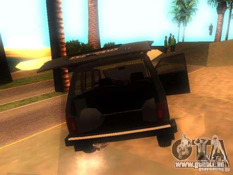 Vaz 2131 NIVA pour GTA San Andreas vue de droite