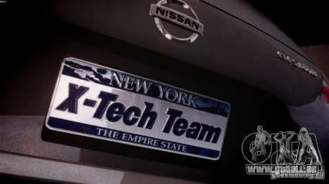 Nissan 370Z Final für GTA 4 Innenansicht