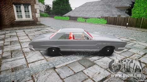 Ford Mercury Comet Caliente Sedan 1965 für GTA 4 Innenansicht