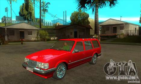Volvo 945 Wentworth R with bodykit (1.2) pour GTA San Andreas vue intérieure