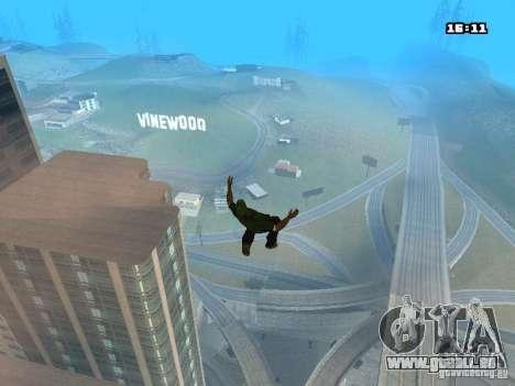 Parkour Mod für GTA San Andreas achten Screenshot