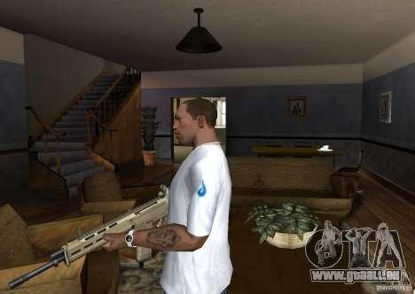 Magpul Masada pour GTA San Andreas deuxième écran