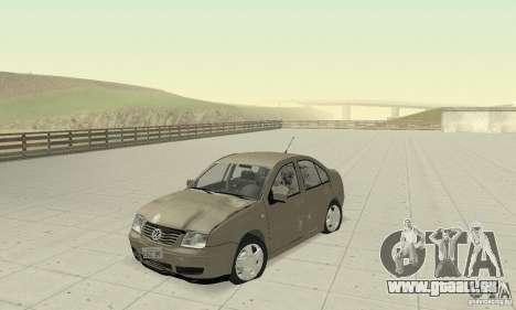 Volkswagen Bora Stock für GTA San Andreas Innenansicht