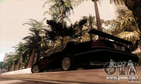 Ford Crown Victoria 2003 für GTA San Andreas Unteransicht