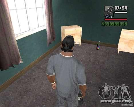 Appareil photo pour GTA San Andreas deuxième écran