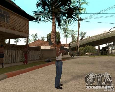 CoD:MW2 weapon pack pour GTA San Andreas sixième écran