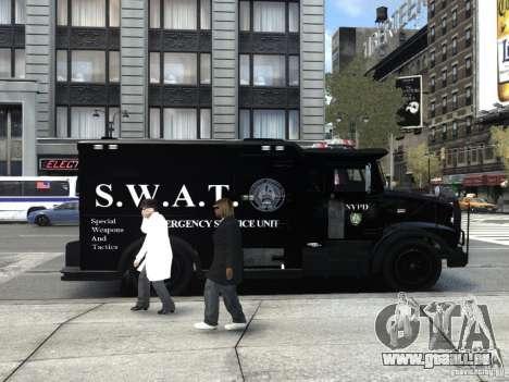 SWAT - NYPD Enforcer V1.1 für GTA 4 rechte Ansicht