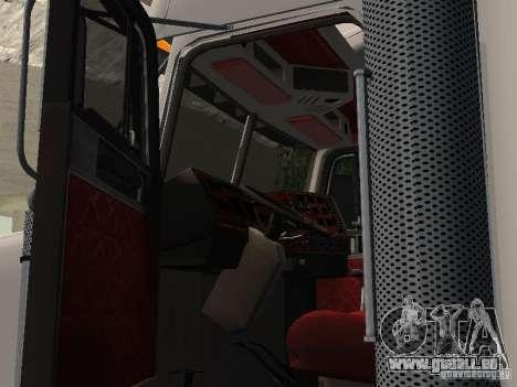Freightliner FLD120 Classic XL Midride pour GTA San Andreas vue arrière
