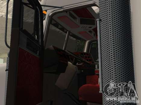 Freightliner FLD120 Classic XL Midride für GTA San Andreas Rückansicht