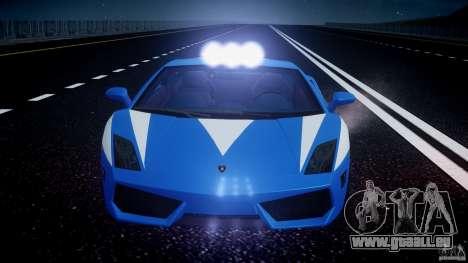 Lamborghini Gallardo LP560-4 Polizia für GTA 4 Räder