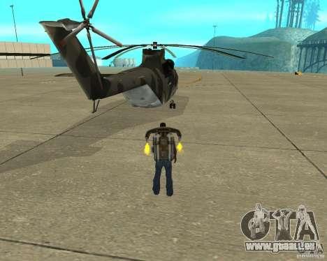 MI-26 pour GTA San Andreas sur la vue arrière gauche