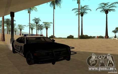 Dodge Charger Police für GTA San Andreas rechten Ansicht