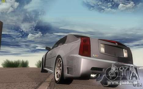 Cadillac CTS-V für GTA San Andreas zurück linke Ansicht