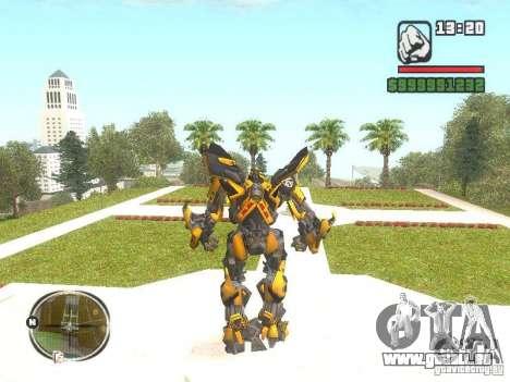Bumblebee 2 pour GTA San Andreas deuxième écran